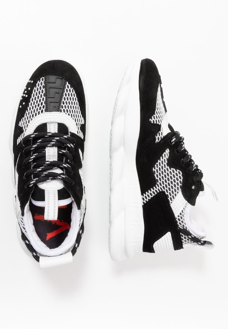 Versace - Baskets basses - black/white