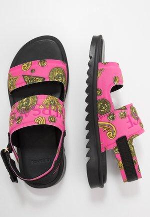 Sandales - lampone/oro/oro caldo