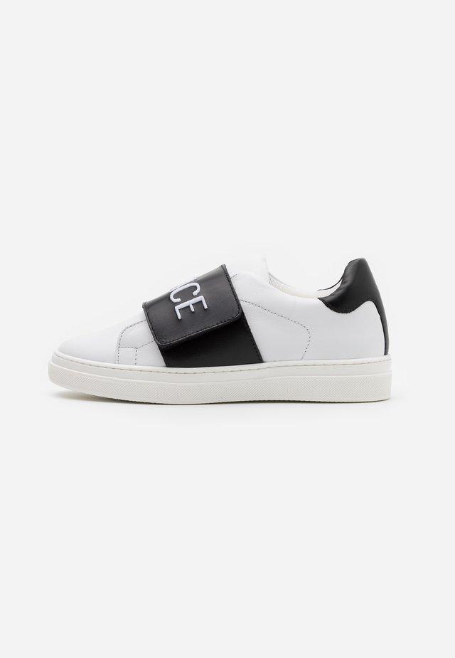 FASCIA RICAMO  - Sneakersy niskie - white/black