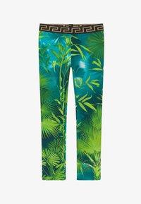 Versace - JUNGLE CAPSULE - Leggings - verde - 2