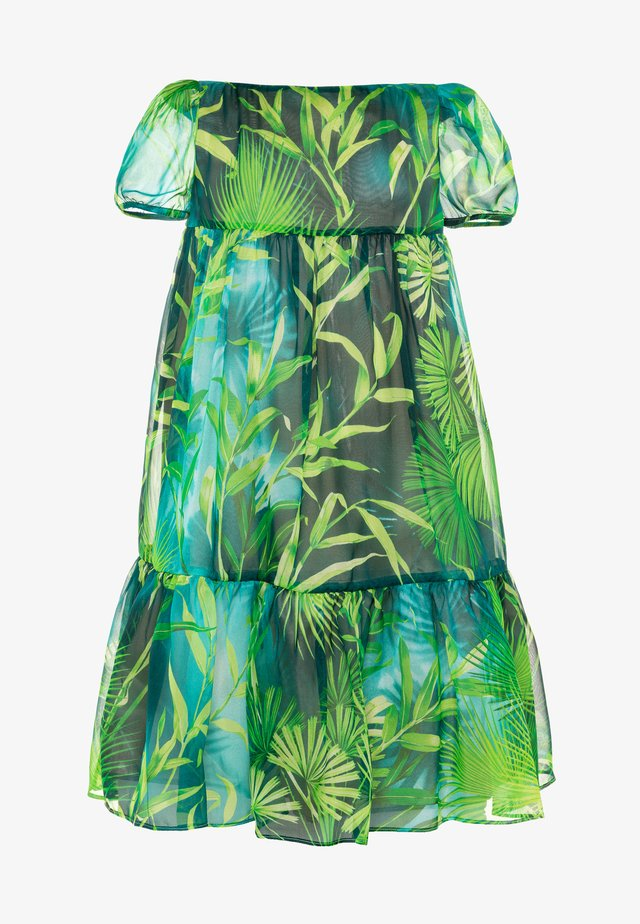 DRESS JUNGLE CAPSULE - Kjole - verde