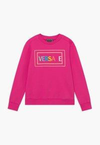 Versace - FELPA - Sweatshirt - fuxia - 0