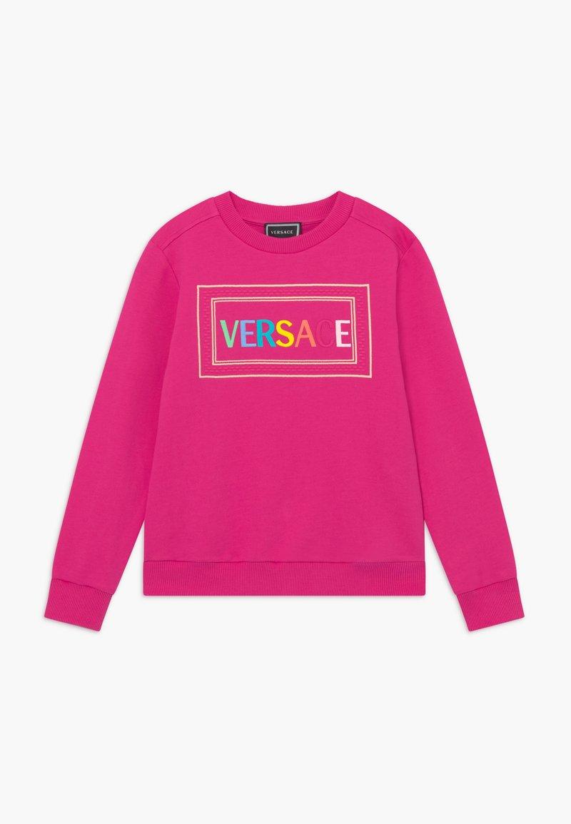 Versace - FELPA - Sweatshirt - fuxia