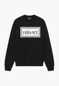 Versace - FELPA - Bluza - nero-bianco - 0