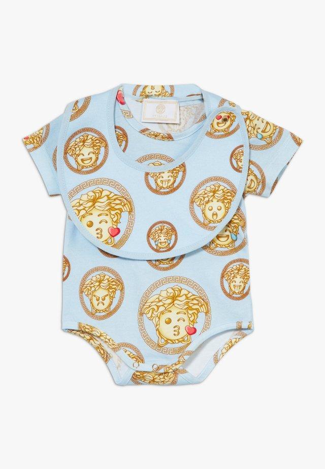 REGALO BABY SET - Body - azzurro/stampa
