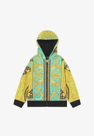 FELPA - veste en sweat zippée - verde/stampa
