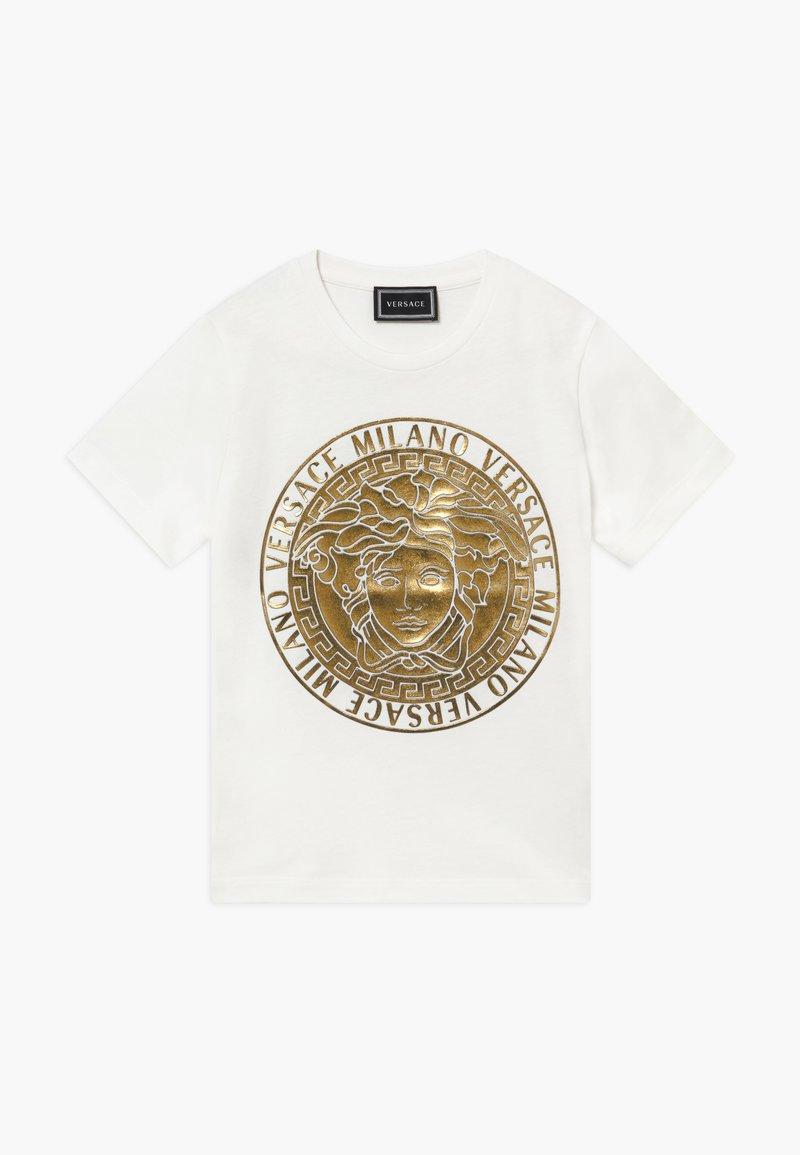 Versace - MAGLIETTA MANICA CORTA - T-shirt imprimé - bianco