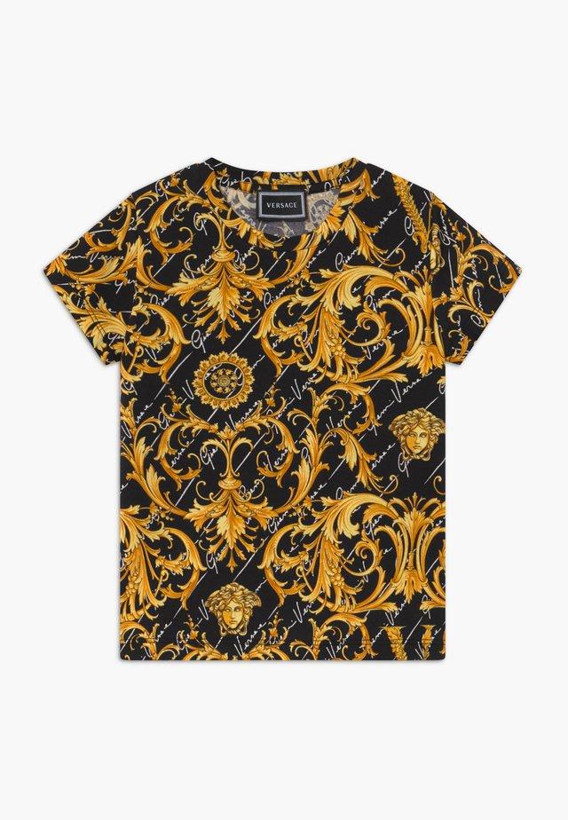 MANICA CORTA - T-shirt imprimé - nero