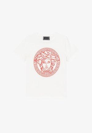 MAGLIETTA MANICA CORTA - T-Shirt print - bianco/rosso