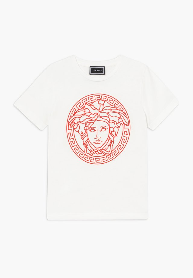 MAGLIETTA MANICA CORTA - T-shirt imprimé - bianco/rosso