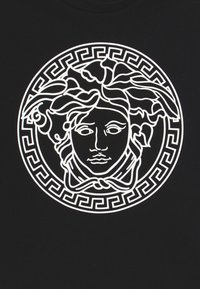 Versace - MAGLIETTA MANICA CORTA - T-shirt print - nero bianco - 3