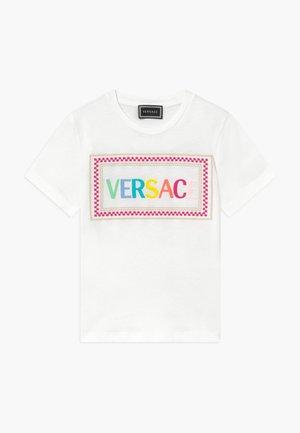 MAGLIETTA MANICA CORTA - T-shirt imprimé - bianco-multicolor