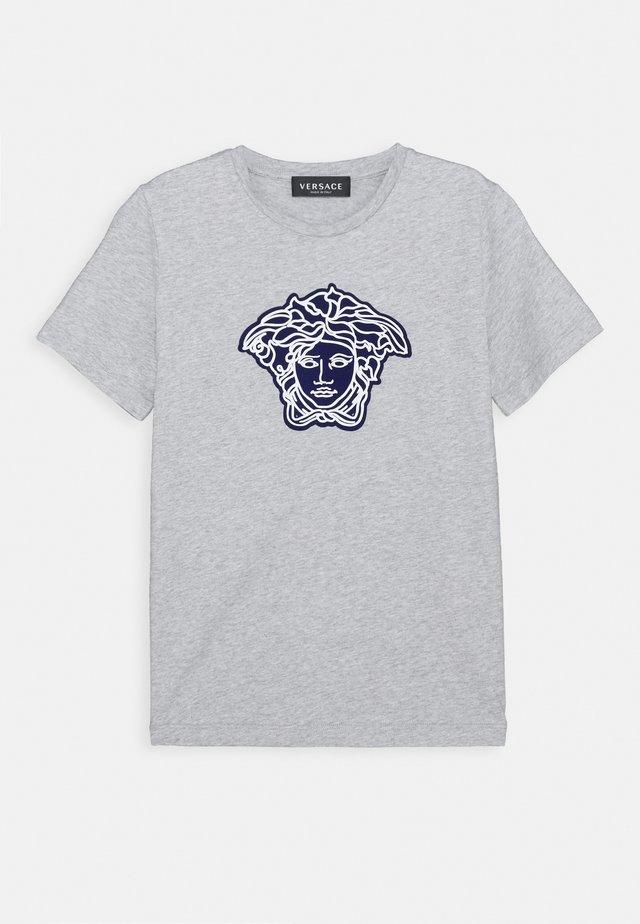 MAGLIETTA MANICA CORTA - T-shirt print - grigio chiaro melange