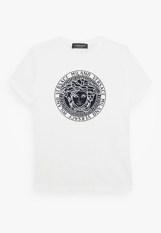 MAGLIETTA MANICA CORTA - T-shirt imprimé - bianco lana