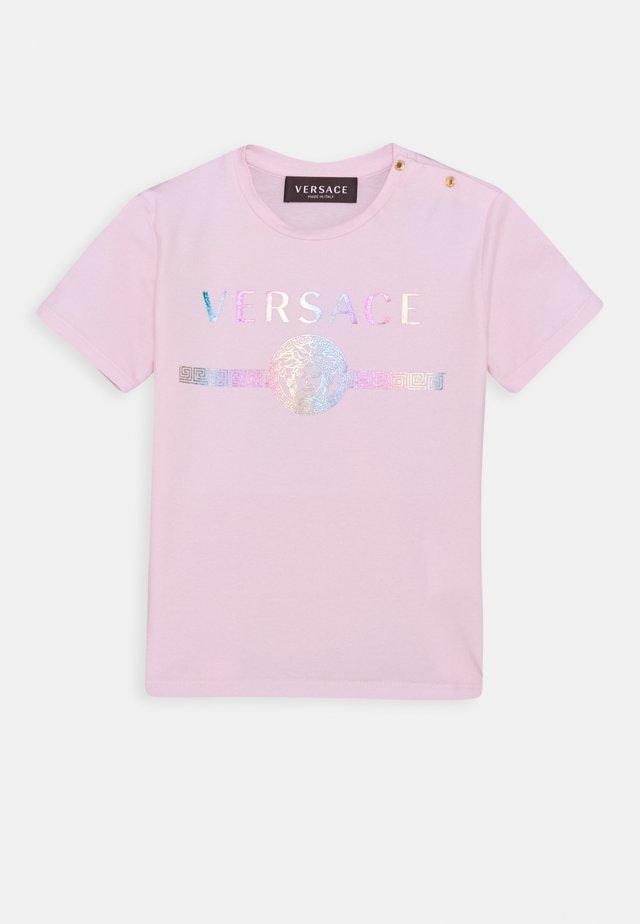 MAGLIETTA MANICA CORTA UNISEX - T-shirt print - rose