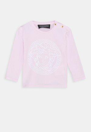 MAGLIETTA MANICA LUNGA UNISEX - Camiseta de manga larga - rosa/bianco