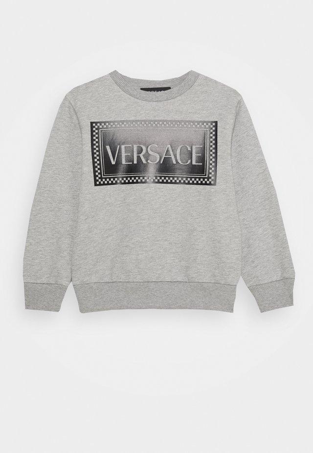 FELPA - Sweatshirt - grigio melange/nero