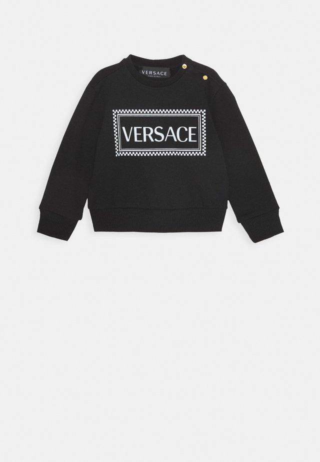 FELPA UNISEX - Sweater - nero