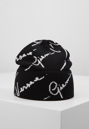 CAPPELLO MAGLIA - Mütze - nero/bianco