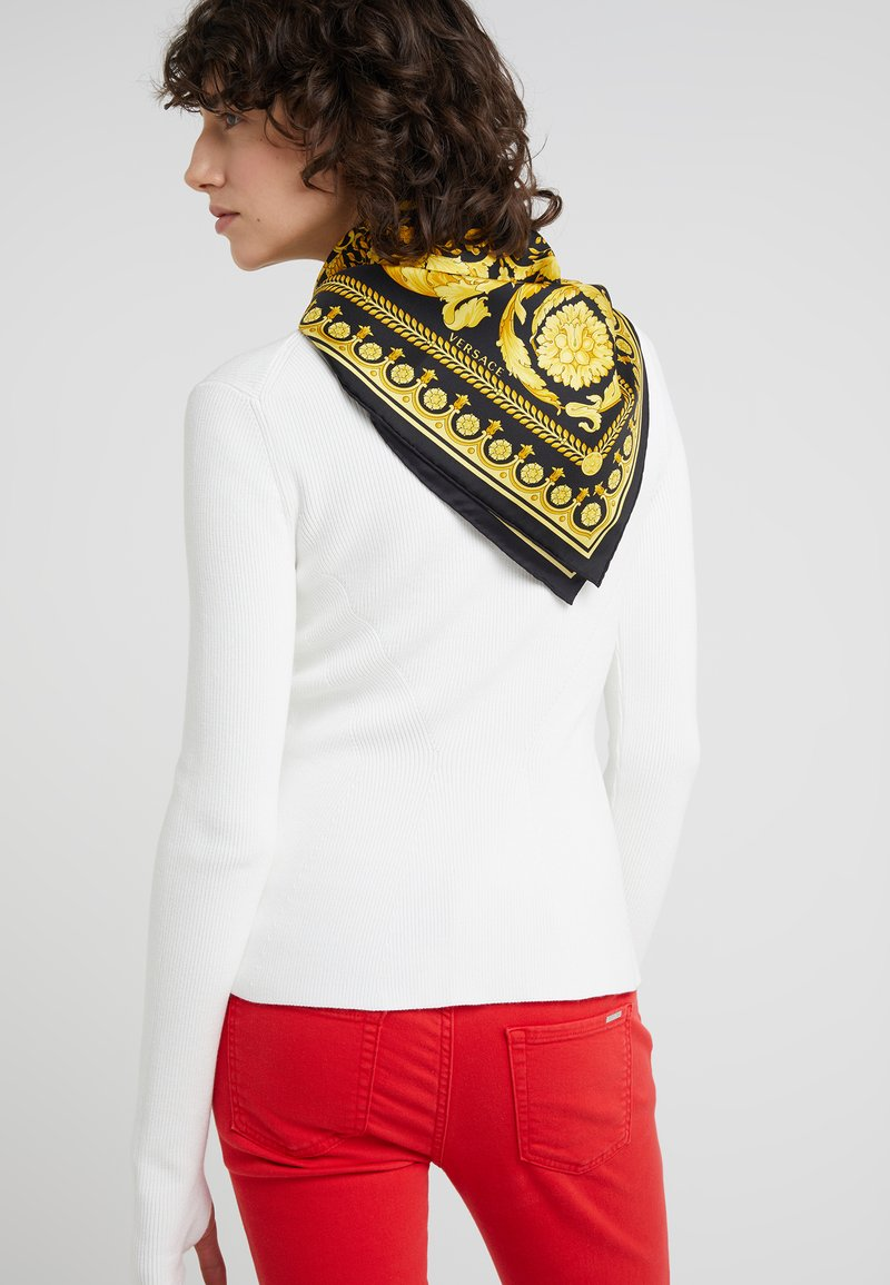 Versace - FOULARD CARRE - Foulard - black