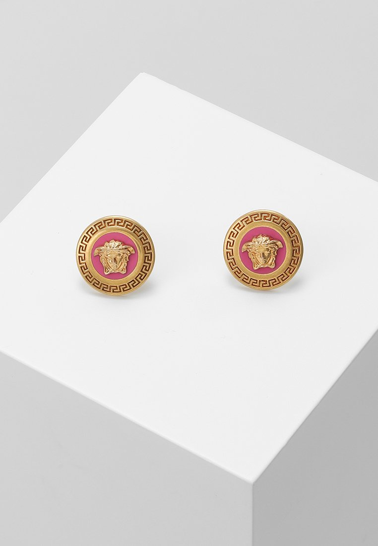 Versace - Earrings - fuxia