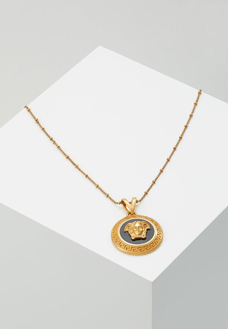 Versace - COLLANA - Halskette - nero/oro tribute