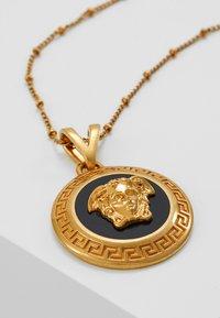 Versace - COLLANA - Halskette - nero/oro tribute - 5