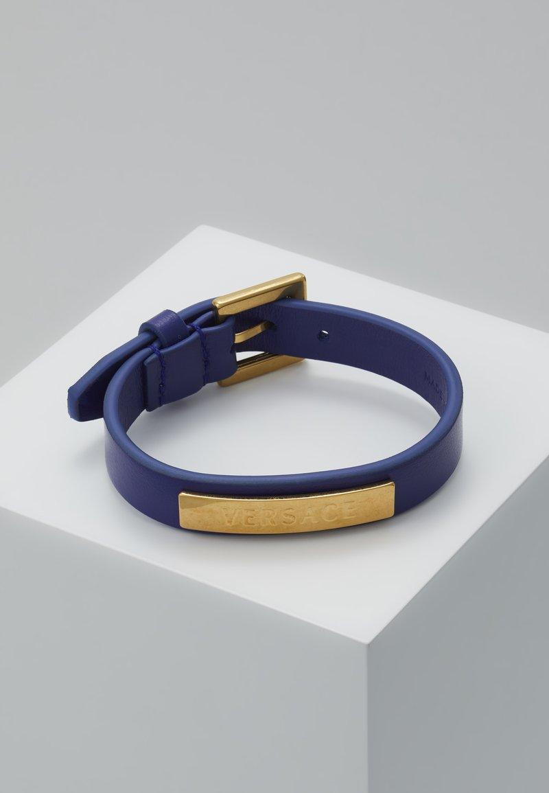 Versace - BRACCIALE  - Armband - bluette oro tribute