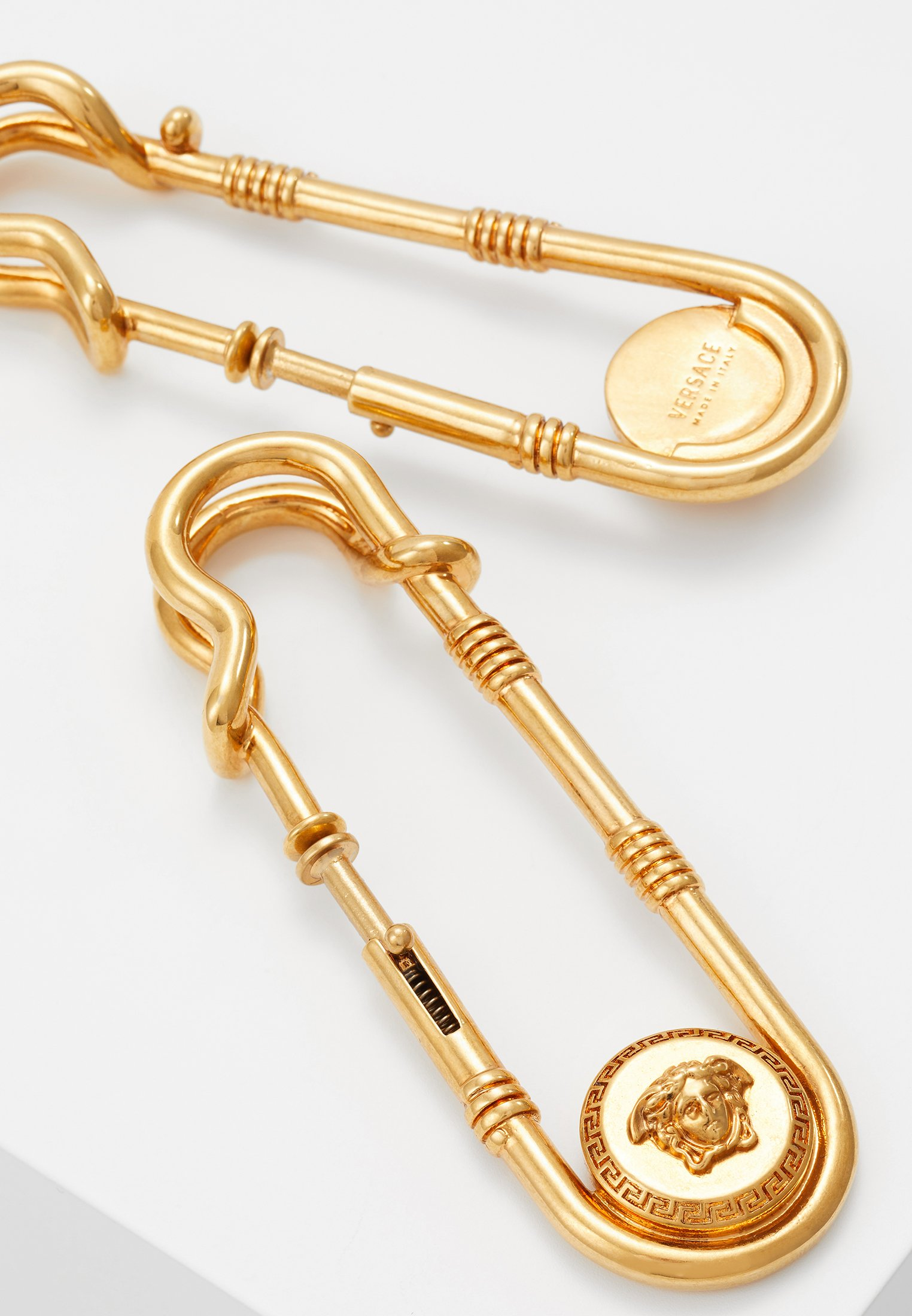 OrecchiniBoucles Gold Versace coloured Versace D'oreilles Gold coloured OrecchiniBoucles D'oreilles Versace vYb6gIf7y