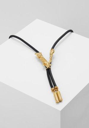 COLLANA  - Halskette - nero/oro tribute