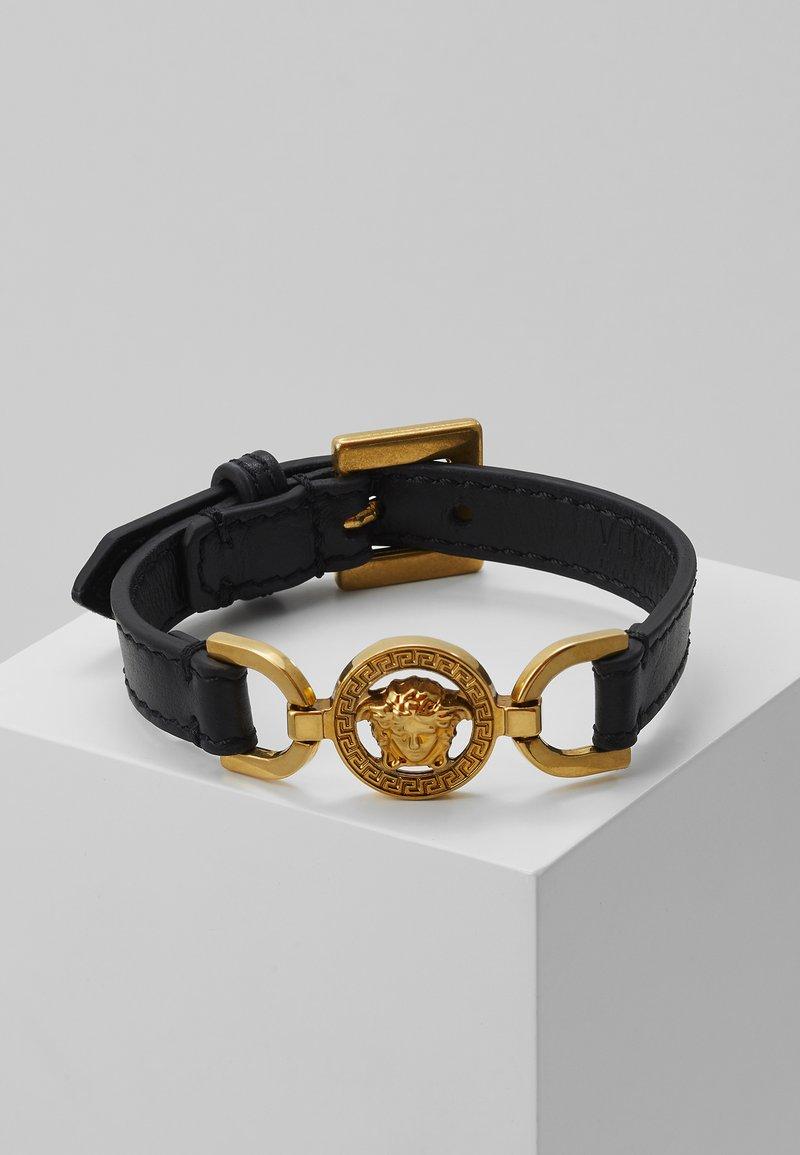 Versace - BRACCIALE - Armband - nero/oro tribute
