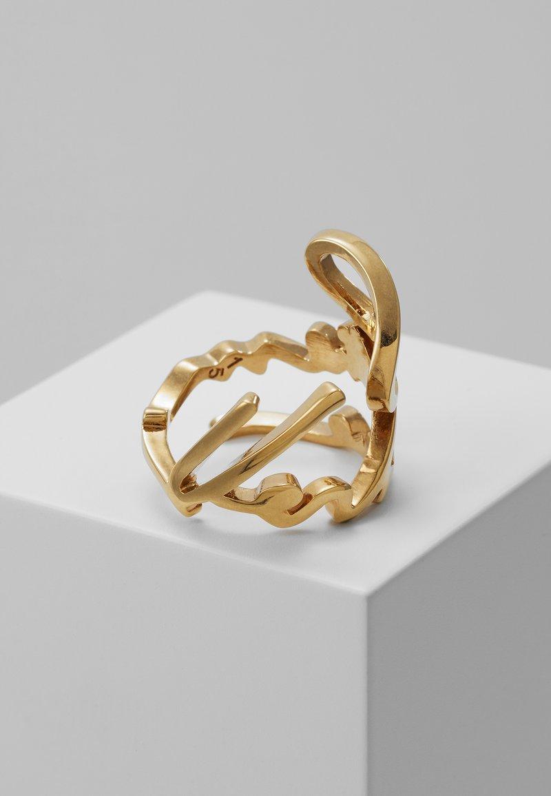 Versace - ANELLO  - Bague - oro tribute