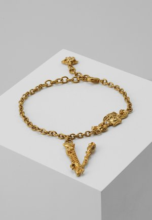BRACCIALE - Armband - crystal/oro tribute