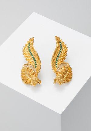 ORECCHINI - Oorbellen - verde/oro tribute