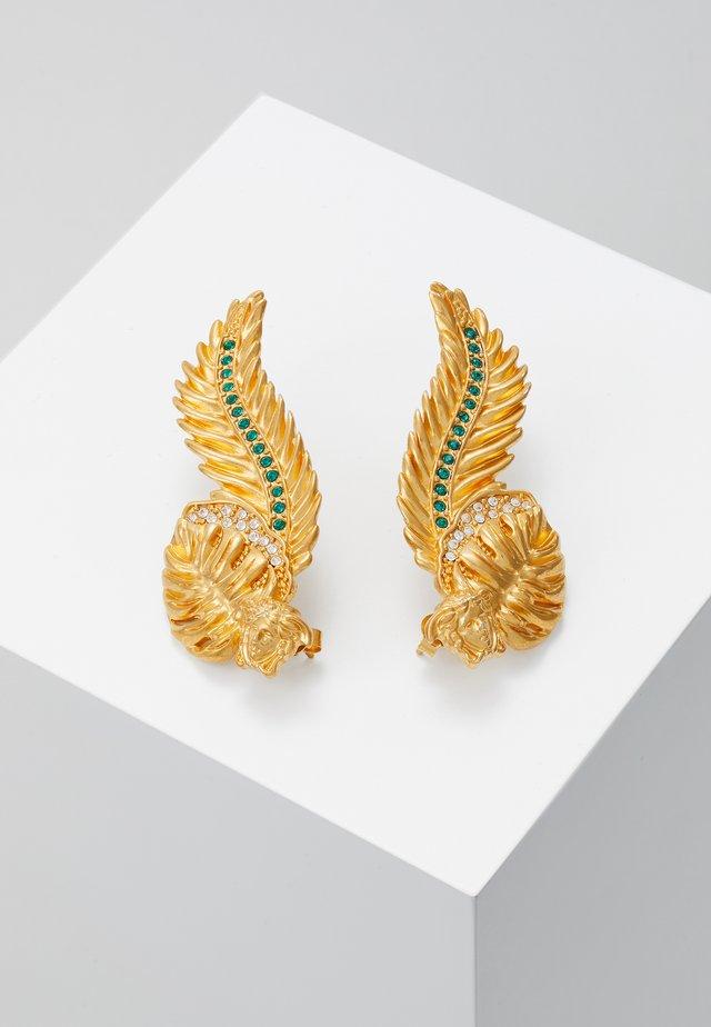 ORECCHINI - Earrings - verde/oro tribute