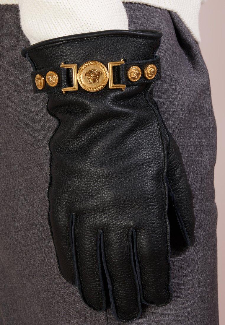 Versace - GUANTI GLOVES - Fingerhandschuh - nero