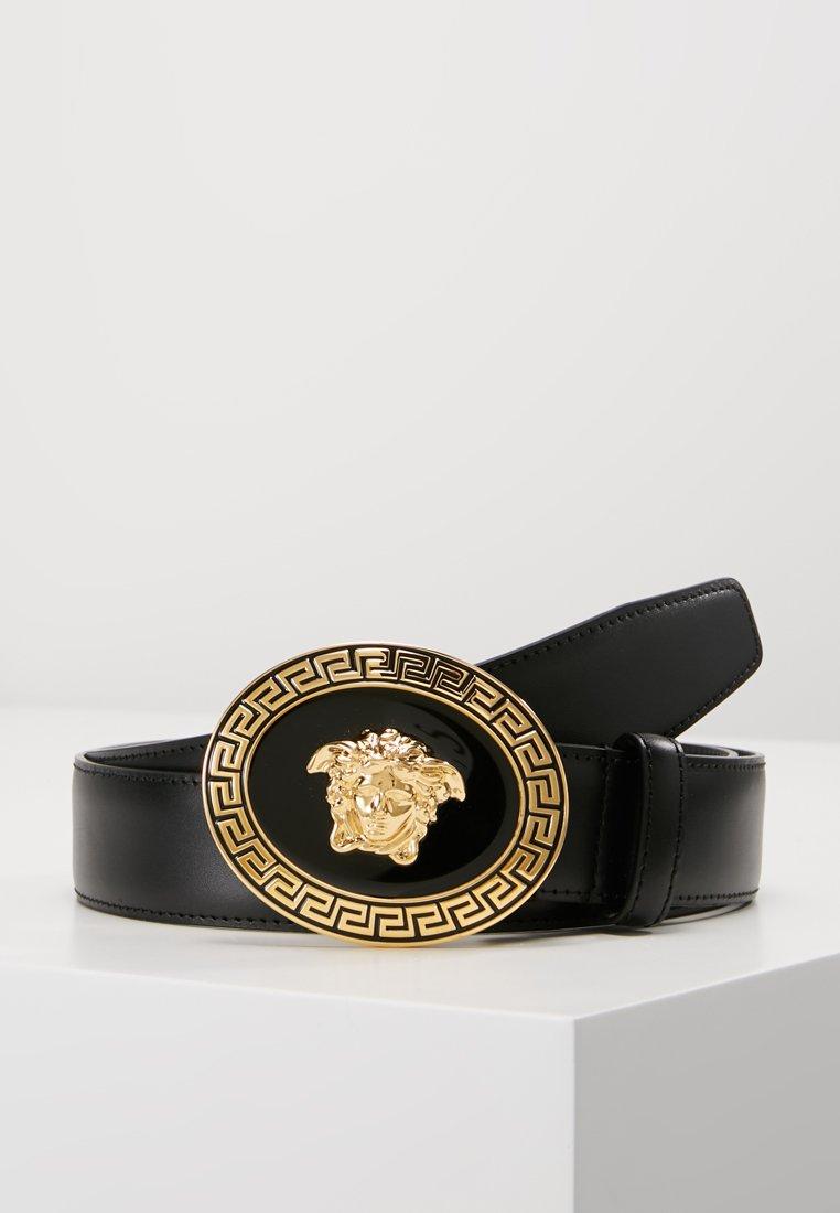 Versace - BELT VITELLO   - Cinturón - nero