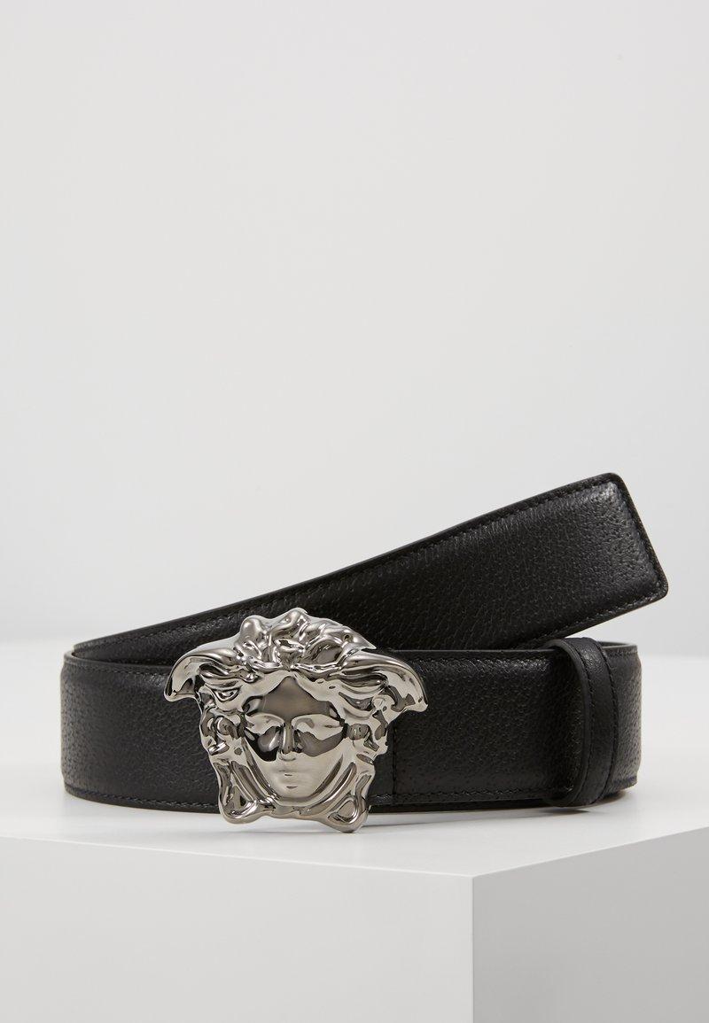 Versace - BELT VITELLO PECCARY - Pásek - nero
