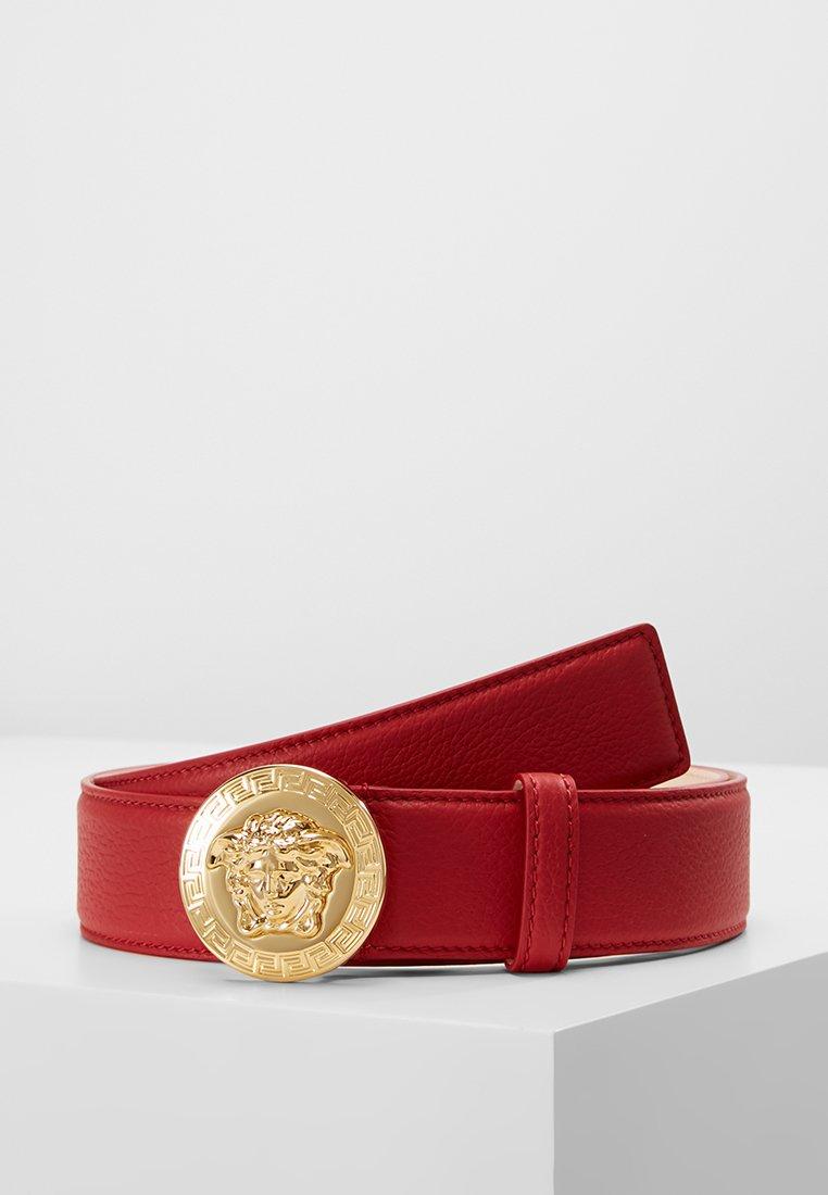 Versace - Riem - rosso cardinale/oro caldo