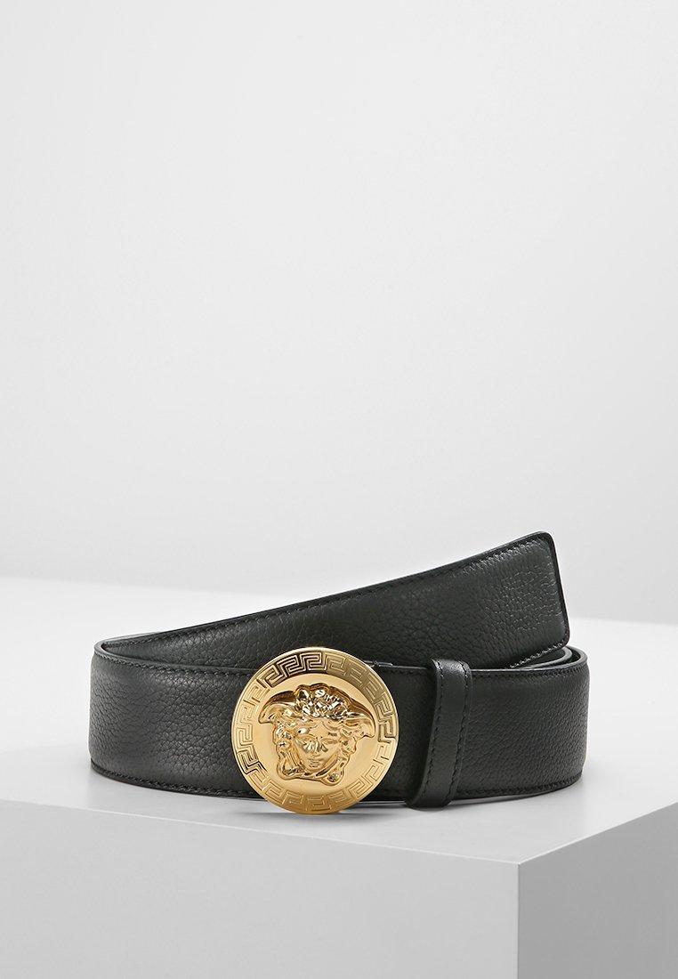Versace - Belt - nero oro caldo