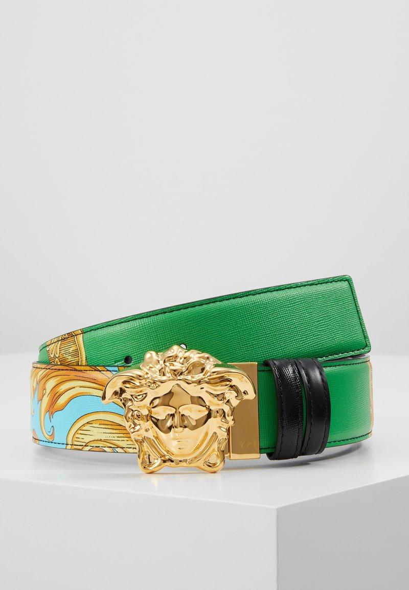 Versace - Vyö - verde azzurro/nero/multicolour