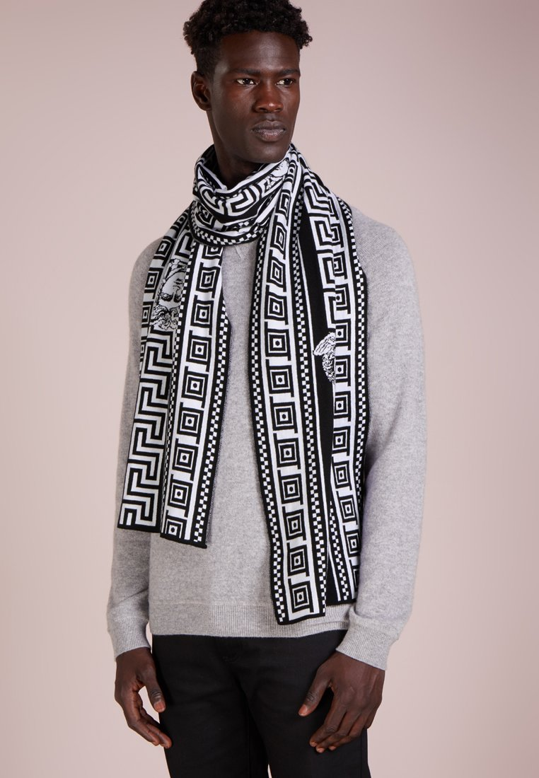 Versace - Écharpe - nero/bianco