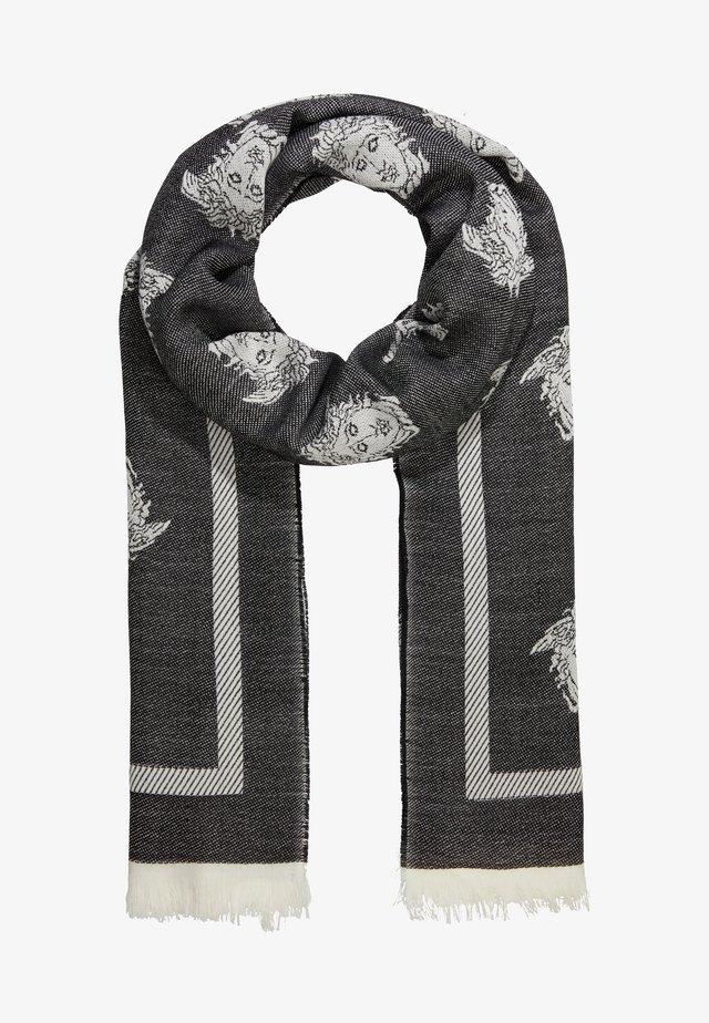 Sjaal - bianco nero
