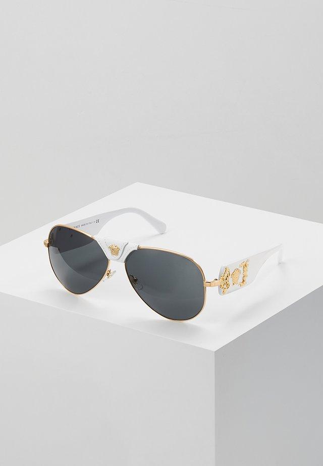 Solbriller - gold-coloured/ white