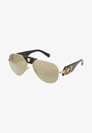 Sunglasses - light brown/dark gold-coloured