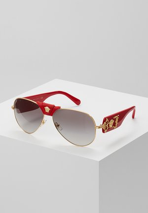 Sonnenbrille - red/grey gradient