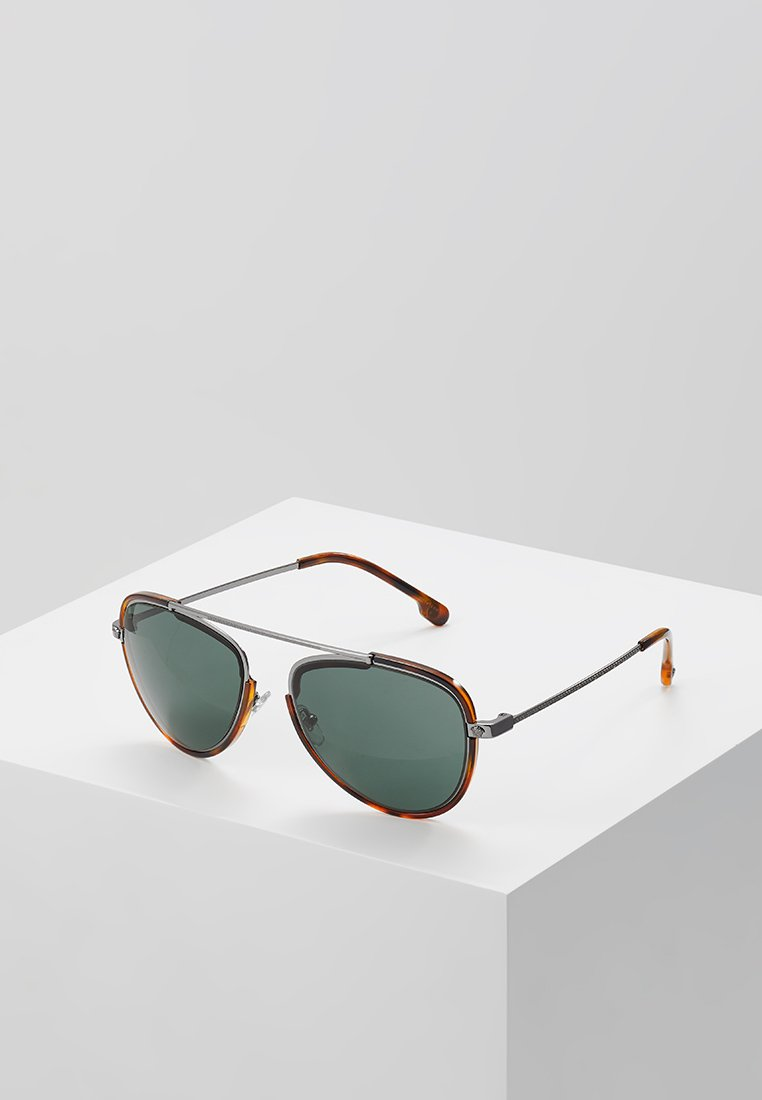 Versace - Sonnenbrille - gunmetal/havana/green