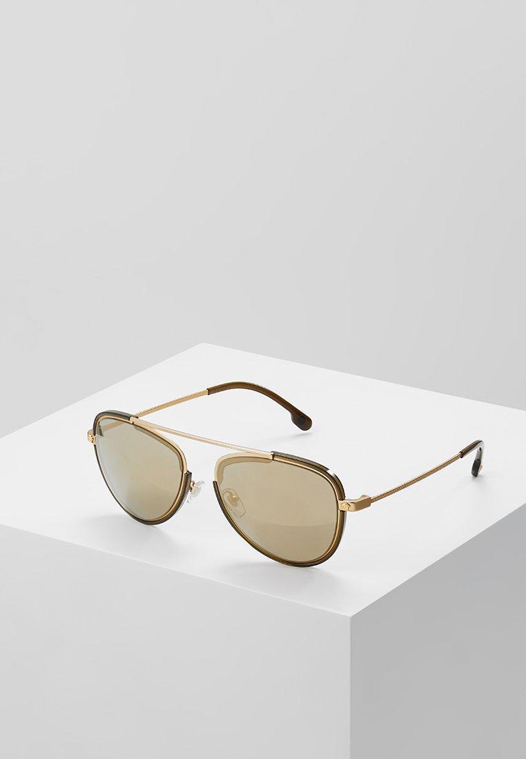 Versace - Solbriller - tribute gold/transp dark green/light brown mirror goldcoloured