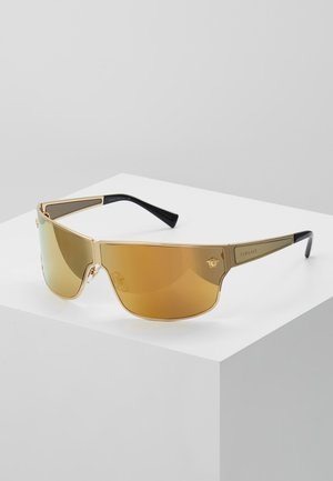 0VE - Sonnenbrille - gold-coloured/brown