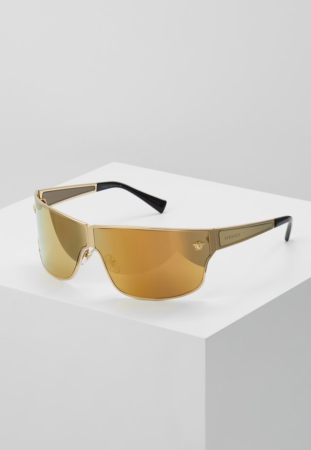0VE - Sunglasses - gold-coloured/brown